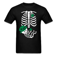T-Shirts ~ Men's T-Shirt ~ St. Patrick's Skelly Baby / non maternity