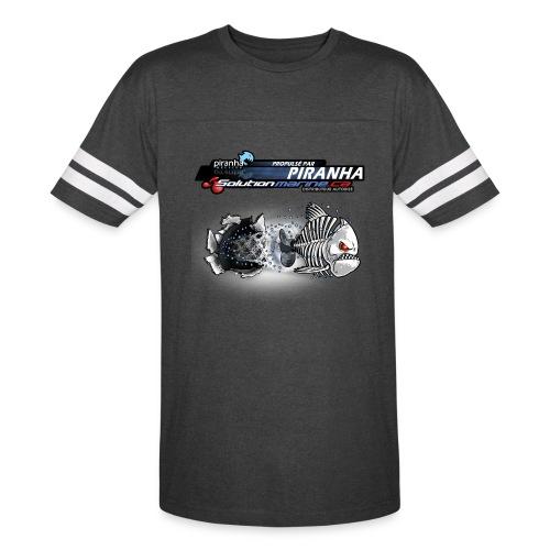 T-SHIRT RETRO POUR HOMME  ZOMBIE PIRANHA - Vintage Sport T-Shirt