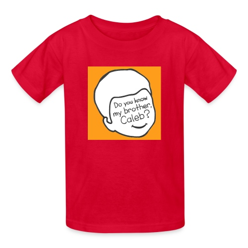 do you know my brother - Kids' T-Shirt