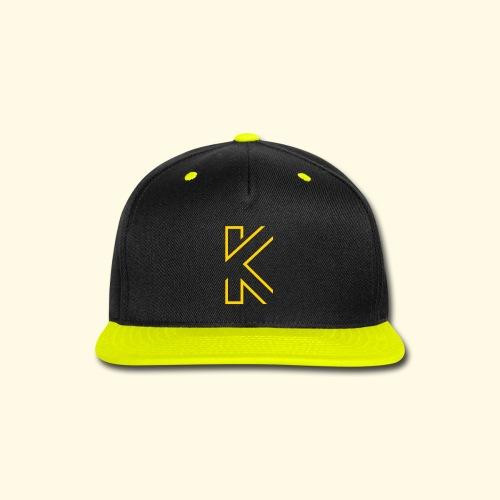 KL Logo - snapback hat - Snap-back Baseball Cap