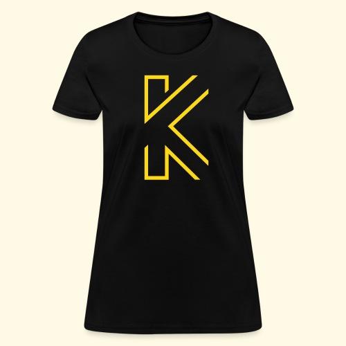 KL Logo T- Shirt (velvet) - female  - Women's T-Shirt