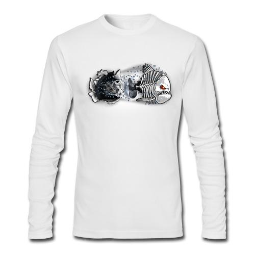 T-SHIRT MANCHE LONGUE HOMME - Men's Long Sleeve T-Shirt by Next Level