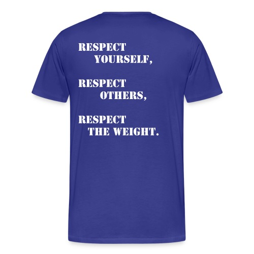 PrettySTRONG RESPECT - Men's Premium T-Shirt