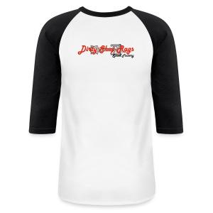 DSR Black & White Baseball - Baseball T-Shirt
