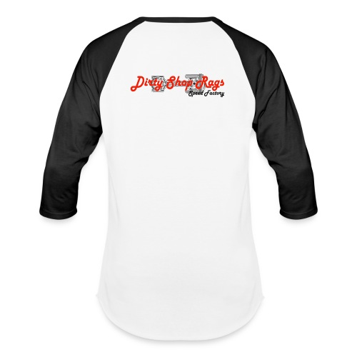 DSR Black & White Baseball - Baseball T-Shirt