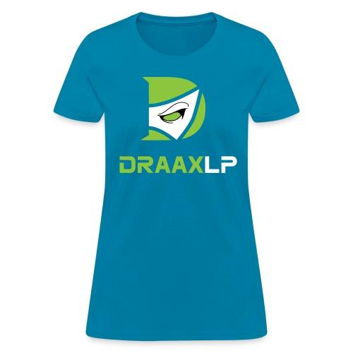 Woman's T-Shirt Green/White Logo - Women's T-Shirt