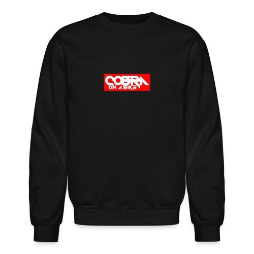 Crew Box Logo - Crewneck Sweatshirt