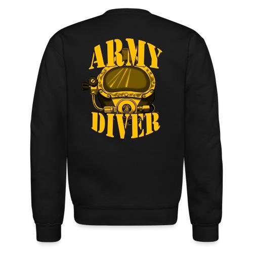 Army Diver Sweatshirt - Crewneck Sweatshirt
