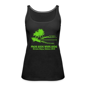 womens premium page side wave side tank - Women's Premium Tank Top