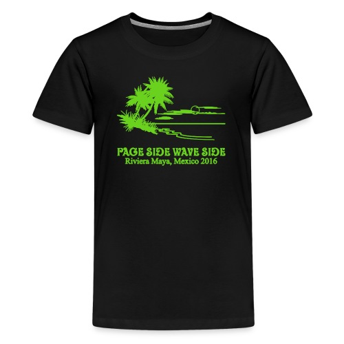 Kids premium page side wave side shirt - Kids' Premium T-Shirt