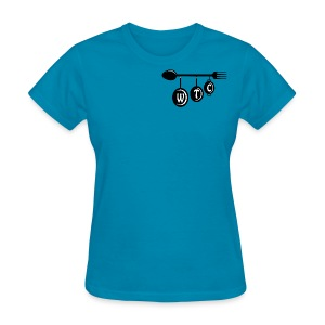 Women's Turquoise T-Shirt - Women's T-Shirt