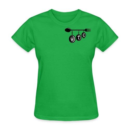 Women's Green T-Shirt - Women's T-Shirt