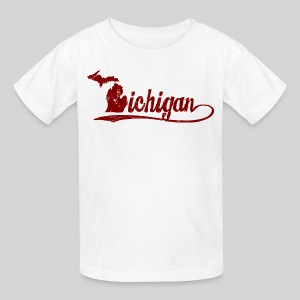 Script Michigan - Kids' T-Shirt