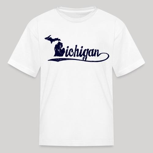 Script Michigan - Kids' T-Shirt