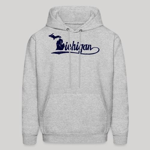 Script Michigan - Men's Hoodie