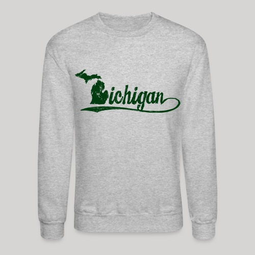 Script Michigan - Crewneck Sweatshirt