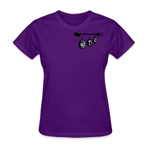 Women's Purple T-Shirt - Women's T-Shirt