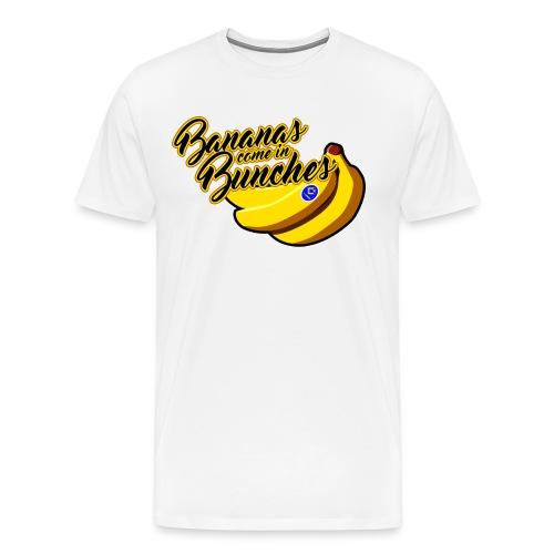 Bananas come in Bunches Men's tee - Men's Premium T-Shirt