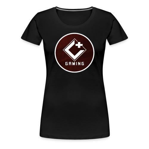 C+ Gaming Circle Logo Tee - Women's - Women's Premium T-Shirt