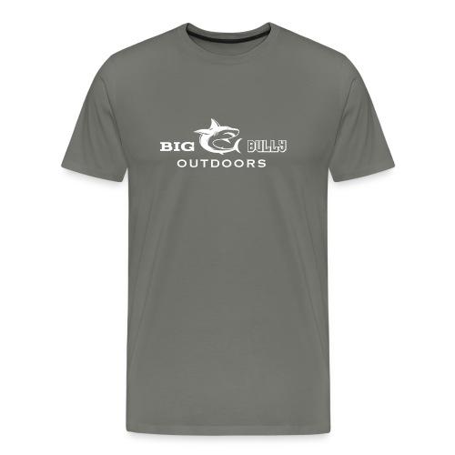 Mens Tee White Logo - Men's Premium T-Shirt