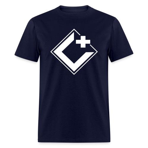 C+ Gaming Logo Tee White - Men's - Men's T-Shirt