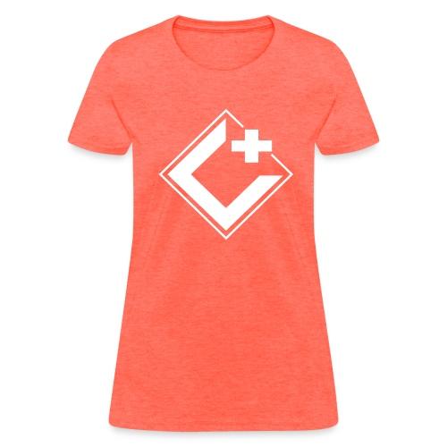 C+ Gaming Logo Tee White - Women's - Women's T-Shirt