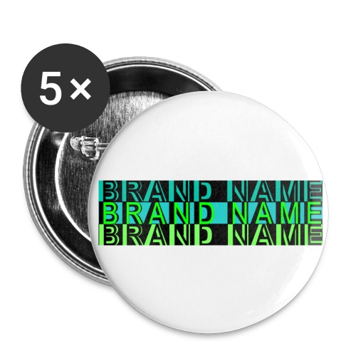Brand Name Button (small) - Small Buttons