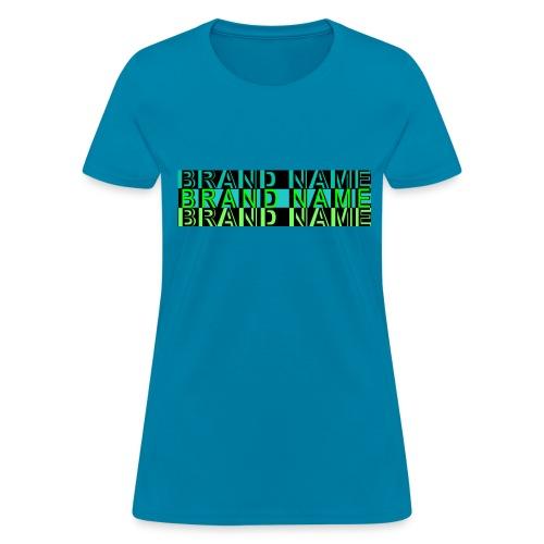 Women's Brand Name Shirt - Women's T-Shirt
