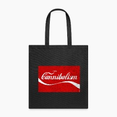 Enjoy CANNIBALISM! Bags & backpacks