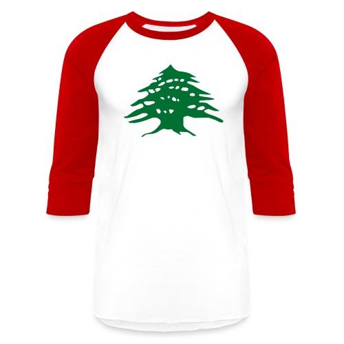 Lebanese Pride - Baseball T-Shirt