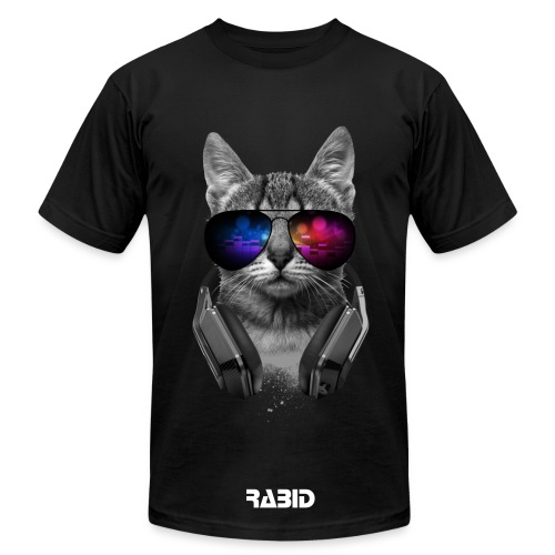 Rabid Cat Men Shirt - Men's Fine Jersey T-Shirt