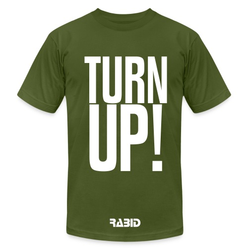 Rabid Turn up Men Shirt - Men's Fine Jersey T-Shirt