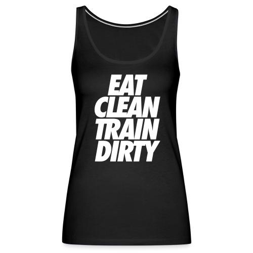 Eat Clean Tank - Women's Premium Tank Top