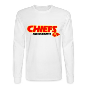 Royal Oak Chiefs Cheer Long Sleeve Shirt - Men's Long Sleeve T-Shirt