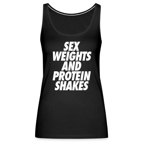 Sex Weights Tank (Women's) - Women's Premium Tank Top