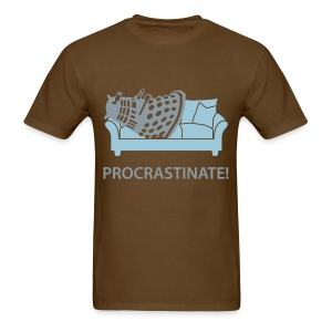 Dalek Procrastinate - Men's T-Shirt