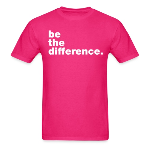 be the difference Tshirt - Men's T-Shirt
