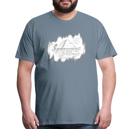Listen to Classic Rock - Men's Premium T-Shirt