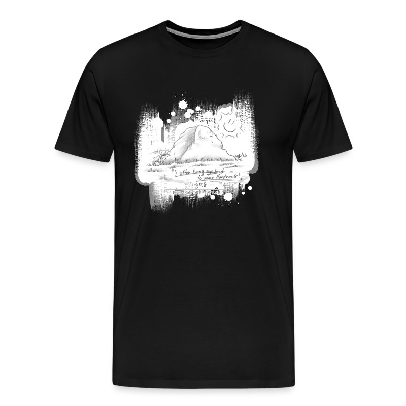 Listen to Hardrock - Men's Premium T-Shirt