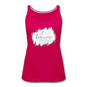 Listen to Classic Rock - Women's Premium Tank Top