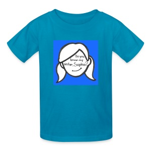 do you know my sister - Kids' T-Shirt