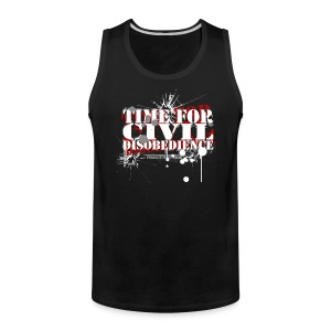 Civil Disobedience - Men's Premium Tank