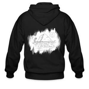 Listen to Classic Rock - Men's Zip Hoodie