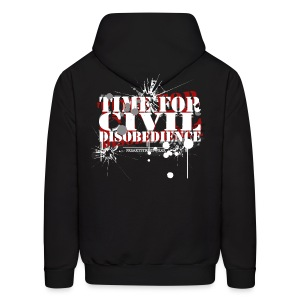 Civil Disobedience - Men's Hoodie
