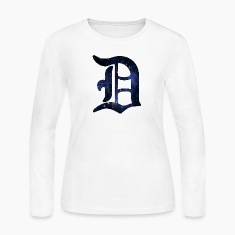 Detroit Is Stars Long Sleeve Shirts