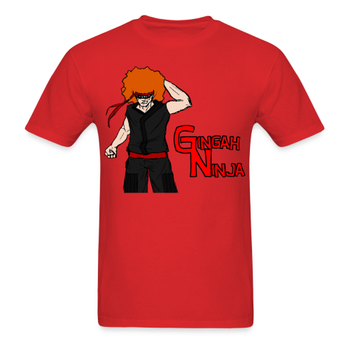 Men's Gingah Ninja T-Shirt - Men's T-Shirt
