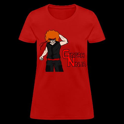 Women's Gingah Ninja T-Shirt - Women's T-Shirt