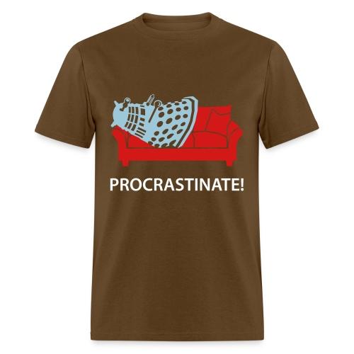 Dalek Procrastinate - Men's T-Shirt