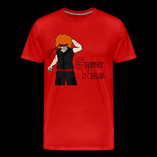 Men's Gingah Ninja T-Shirt (More Sizes) - Men's Premium T-Shirt