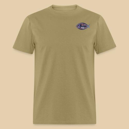 Zevcorod Studio Logo blue Youtube - Men's T-Shirt